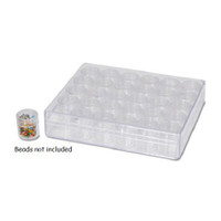 Bead, Craft Storage System Clear box with 30 individual containers w/screw lids