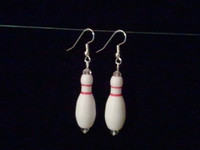 100 Pair Hand Crafted Bowling Earrings