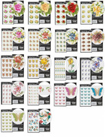 Japanese- Tensha Water Decals - Large VARIETY