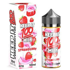 Strawberry Milk 100mL - Keep It 100 eLiquid