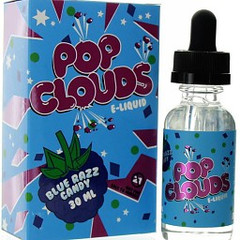 Blue Razz Candy 60mL - Pop Clouds eLiquid 60ml