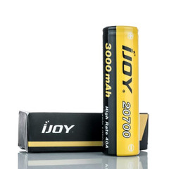 IJoy 20700 3030 mAh 40A 3.7v Battery Flat Top