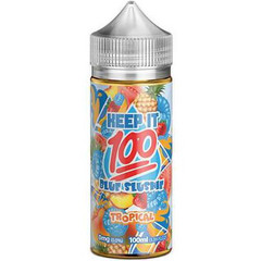 Blue Slushie Tropical 100mL - Keep It 100 eLiquid
