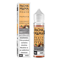 Peach Papaya Coconut Cream - Pacha Mama eLiquid 60mL