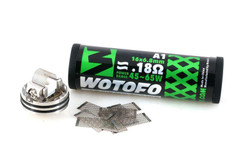 Wotofo Mesh Strips for Mesh RDA 10 Pack ≈ .18 ohm