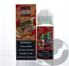 White Peach Raspberry - Noms X2 eLiquid 120mL