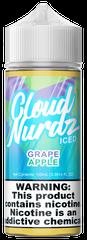 Grape Apple Iced - Cloud Nurdz eLiquid 100ml