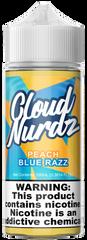 Peach Blue Razz - Cloud Nurdz eLiquid 100ml