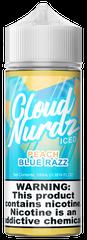 Peach Blue Razz Iced - Cloud Nurdz eLiquid 100ml