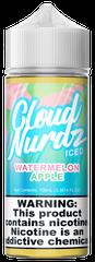 Watermelon Apple Iced - Cloud Nurdz eLiquid 100mL