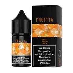 Sweet Peach Soda - Fruitia Salts 30ml
