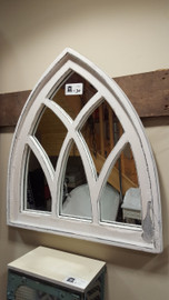 White Arch Mirror (small)