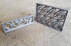 Cast Iron brick vents style 1