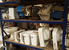 assorted period sanitary ware