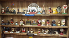 assorted money boxes
