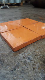 Quarry/ terracotta tiles 9''x9''