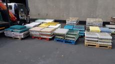 assorted cast iron radiators