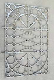 Large cast iron grids