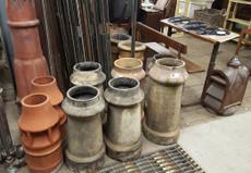range of chimney pots