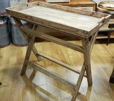 folding timber tray/table