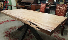 large timber table