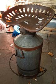 tractor seat churn