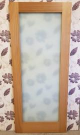 oak shaker frosted 34'' x 80''