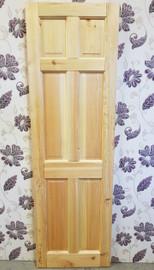 pine 6 panel 24'' x 78''