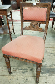 set of 6 antique chairs