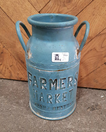 milk churn planter 2