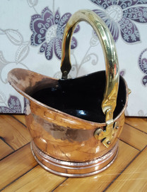copper scuttle (small)