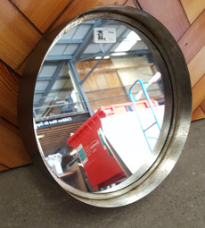Deep frame round mirror (large)