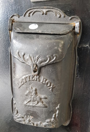 small cast iron post box