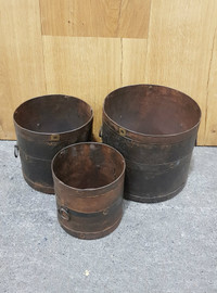 set of 3 buckets