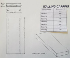 Dimensions wall capping