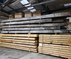 pitch pine beams
