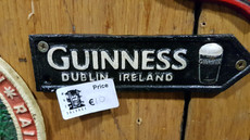 small Guinness sign