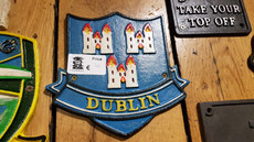 dublin crest sign