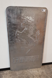 Ferrari sign (polished)