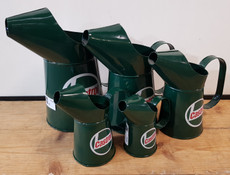 set of 5 castrol jug set