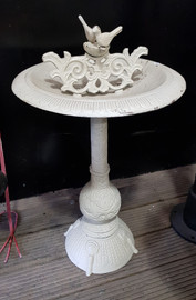 large cast iron bird bath 2