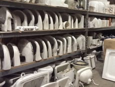 Assorted sanitary ware