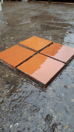 Quarry/ terracotta tiles 6''x6''