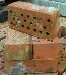 Belfast Red Brick holey