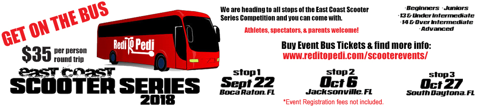 East Coast Scooter Series - Pro Scooter Competition