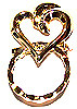 SPEC pin fancy Heart