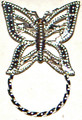 SPEC pin Filigree Butterfly