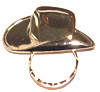 SPEC pin large Cowboy Hat
