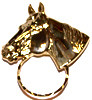 SPEC pin large Horse Head