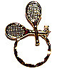 SPEC pin Tennis Rackets